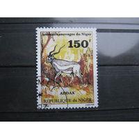 Марки - фауна, Нигер, антилопа