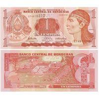 Гондурас 1 лемпира образца 2010 года UNC p89b