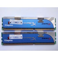 DDR3 12800 Kingston HyperX 4Gb KIT