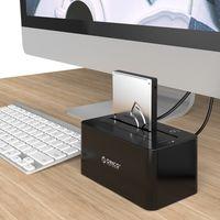 ДОК-СТАНЦИЯ ДЛЯ ЖЕСТКОГО ДИСКА (HDD+SDD).  2.5 + 3.5. USB 3.0