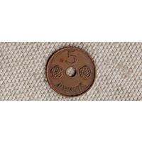 Финляндия 5 пенни 1941(Oct)