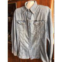 Рубашка джинсовая Diesel 90-е гг оригинал 50-52 (XL)