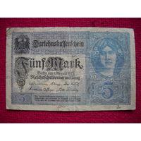 5 марок 1917 г.