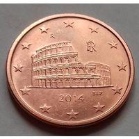 5 евроцентов, Италия 2014 г., AU