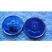 Сомали 1 шилинг 2014г. коллекция парусников #9. распродажа
