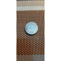 Германия 1/2 марки 1907 А