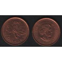 Канада _km490 1 цент 2005 год km490 не магнит (f31)**