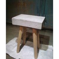 Столик (стул) бетон+дерево