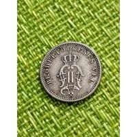 Норвегия 10 эре 1898 года Оскар II Серебро тир. 2 тыс. штук