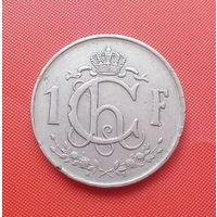 68-28 Люксембург, 1 франк 1952 г.