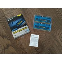 Оперативная память Corsair Vengeance Blue 8GB DDR3
