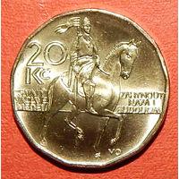 20 Крон. Чехия. 2012 год