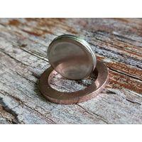 Ангола. 20 кванз 2014. Заготовка, би-металл: центр - нержавеющая сталь, кольцо - сталь с медным покрытием.