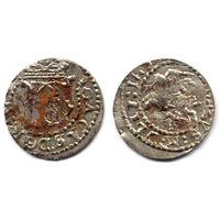 Шеляг 1652, Ян II Казимир Ваза, Вильно. Штемпельный блеск