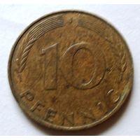 10 пфенниг 1990 J