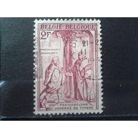 Бельгия 1957 День марки, живопись. Германский кайзер Максимиллиан 1 (1459-1519)