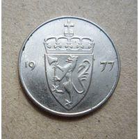 Норвегия 50 эре 1977 (2)