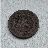 Нидерланды 1/2 цента, 1878 3-15-2