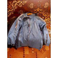 Куртка дождевик adidas с капюшоном