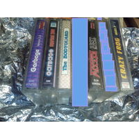 Аудиокассеты с записью 5 штук