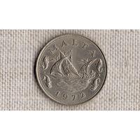Мальта 10 центов 1972 /фауна//(GB)/