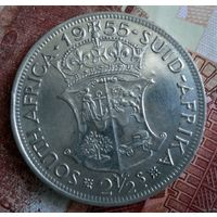 ЮАР. 2 1/2 шиллинга 1955 г.