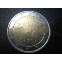 Эстония 2 евро 2011