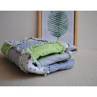 Одеяло покрывало плед для деток 0-3 лет rag quilt