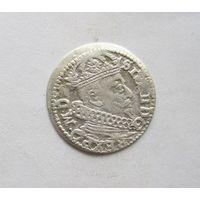 Грош 1626 Литва Сигизмунд lll Ваза Погоня в обводке