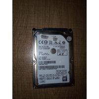 Винчестер (жёсткий диск) Hitachi 2,5 дюйма для ноутбука на 500 Гб    без нареканий по работе, немного б/у, в отличном состоянии.Возможно использование данного винчестера как USB-флешку большого объема