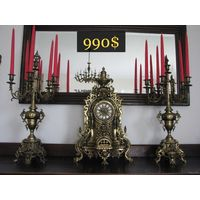 Большие Дворцовые Часы Germany FHS середина ХХ века