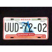 Номер автомобильный Mexico Marlin