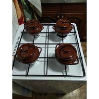 Керамические горшочки 4 шт