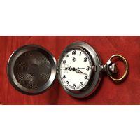 Часы карманные Молния Глухарь на ходу
