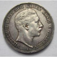 Германия, Пруссия, 5 марок, 1903, серебро