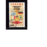 Панама-1966(Мих.879) ,  гаш. , Спорт, ЧМ-1966 по футболу