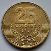 Коста-Рика, 25 колон 2001 г