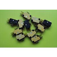 Переключатель. Micro switch 10(3)A, 250V~
