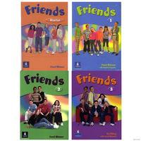 Carol Skinner, Liz Kilbey, Mariola Boguska - Серия учебников английского языка с аудио для детей Friends - Starter, 1, 2, 3