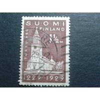 Финляндия 1929 кафедральный собор в Турку
