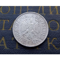 1 марка 1990 (F) Германия ФРГ #07