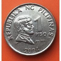 01-01 Филиппины, 1 писо 2004 г.