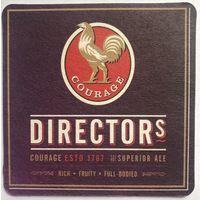 Подставка под пиво Directors пивоварни Courage /Великобритания/