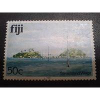 Фиджи 1979 природа