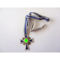 Материнский крест в серебре. Оригинал. Арт