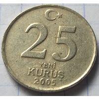 Турция 25 новых курушей, 2005        (1-6-1 )