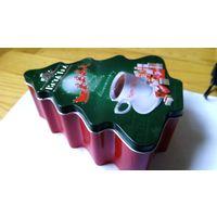 Коробка жестяная новогодня - покупателю любого лота
