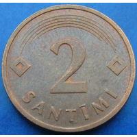 Латвия 2 сантима 1992 (2-73)