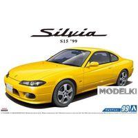 Nissan Silvia S15 Spec.R '99, сборная модель автомобиля 1/24 Aoshima (DISM) 5679