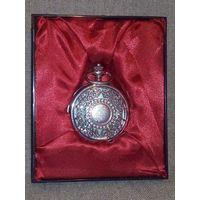 -3- Часы с арабесками с крышкой коллекционные карманные часы